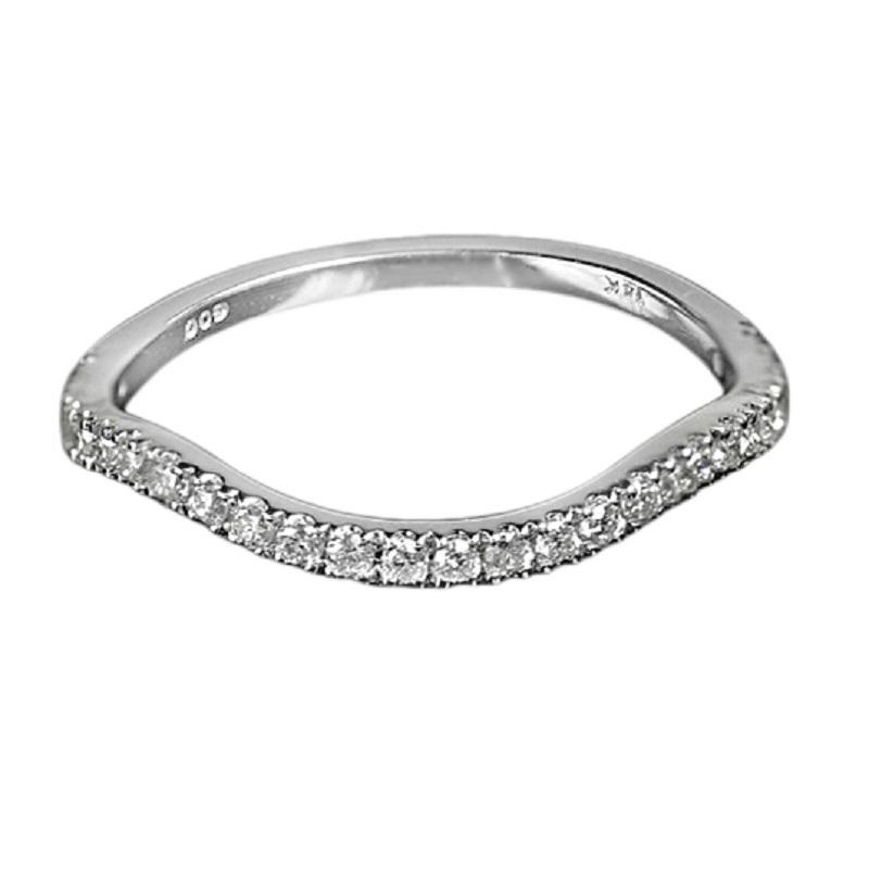 14K Diamond Band 1/4 ctw