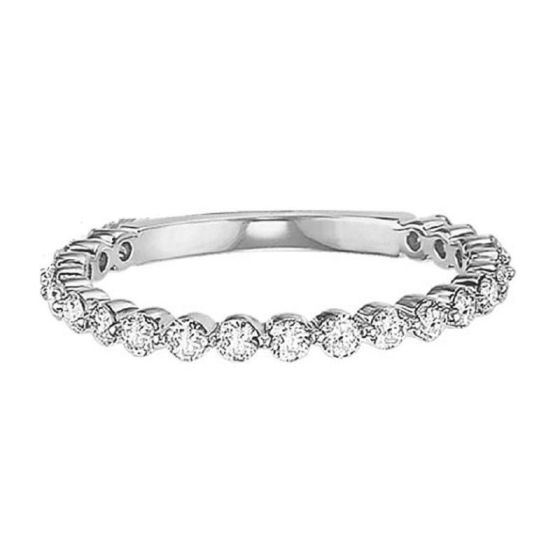 14K Diamond Matching Band 1/2 ctw