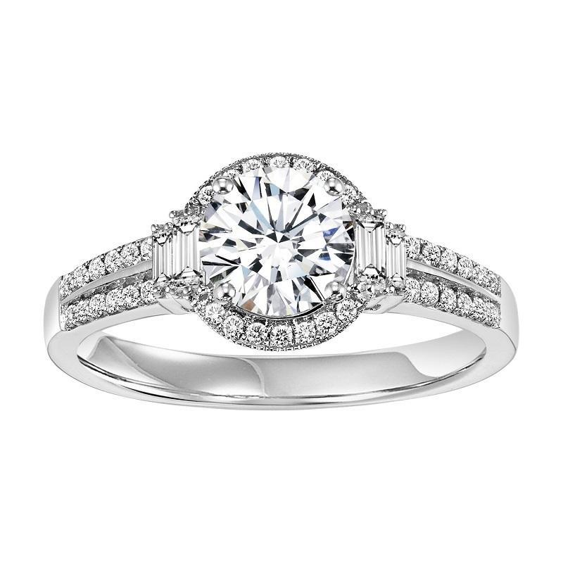 14K Diamond Engagement Ring 1/3 ctw