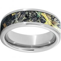 Serinium® Pipe Cut Band with Mossy Oak® New Break-Up Inlay