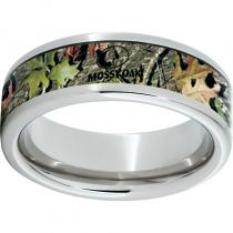 Serinium® Pipe Cut Band with Mossy Oak® Obsession Inlay