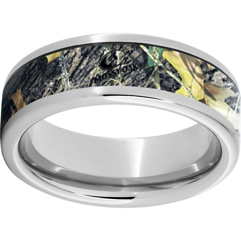 Serinium® Pipe Cut Band with Mossy Oak® New Break-Up Inlay