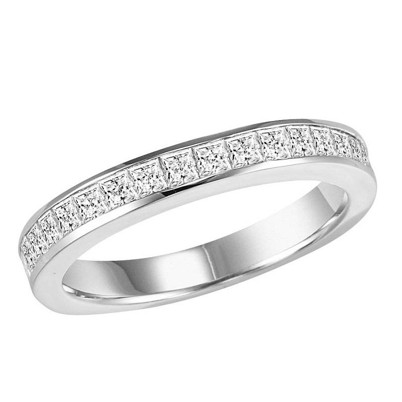 14K Diamond Matching Band 1 ctw