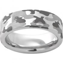 Serinium® Pipe Cut Band with Camo Laser Engraving