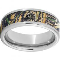 Serinium® Pipe Cut Band with Mossy Oak® Shadowgrass Inlay