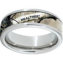 Serinium® Pipe Cut Band with Realtree® AP Inlay