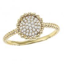 10K Diamond Ring 1/7 ctw