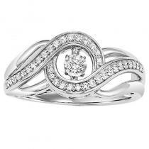 10K Rhythm Of Love Ring