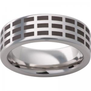 Serinium® Pipe Cut Band with Grid Laser Engraving