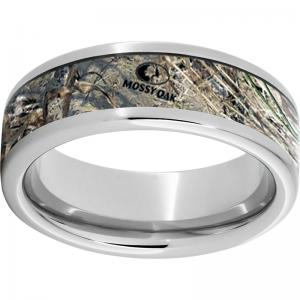 Serinium® Pipe Cut Band with Mossy Oak® Duck Blind Inlay